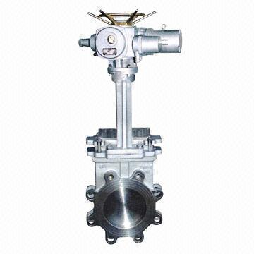 Knife Gate Valve, Electric Operated, Wafer Type, 2 to 24-inch Size