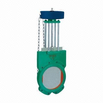 Slurry Valve, Sprocket Operated, Made of WCB Material