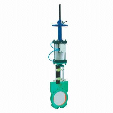 Slurry Valve, Hydraulic Operated, Made of WCB Material