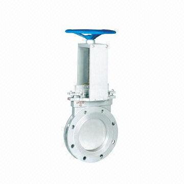 Knife Gate Valve, Non Rising Stem, Manual Operated