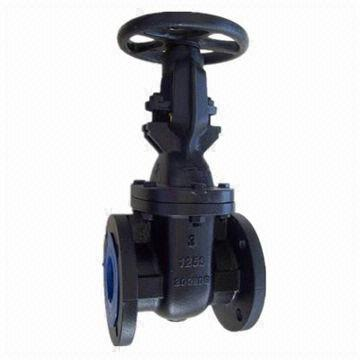 125lbs Gate Valve, Cast Iron, Rising Stem, MSS SP-70, for Water, Oil and Steam