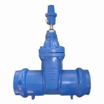 Cast Iron Gate Valve as per SABS standard with resilient seat and non-rising stem